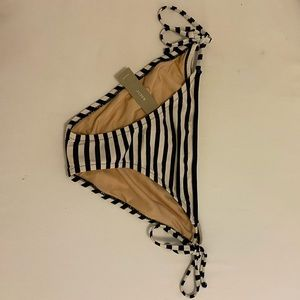 J.Crew striped bikini bottoms